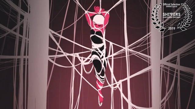Kurzfilm In der Version von Juan Pablo Machado ist Rapunzel eine männermordende Einsiedlerin