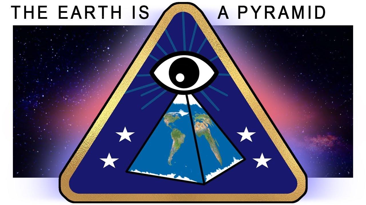 Der eindeutige Beweis, dass die Erde eine Pyramide ist