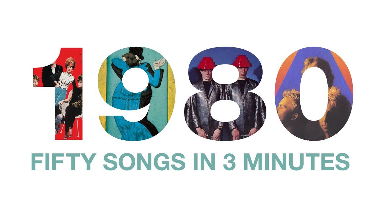 50 Songs von 1980 in einem Song in 3 Minuten