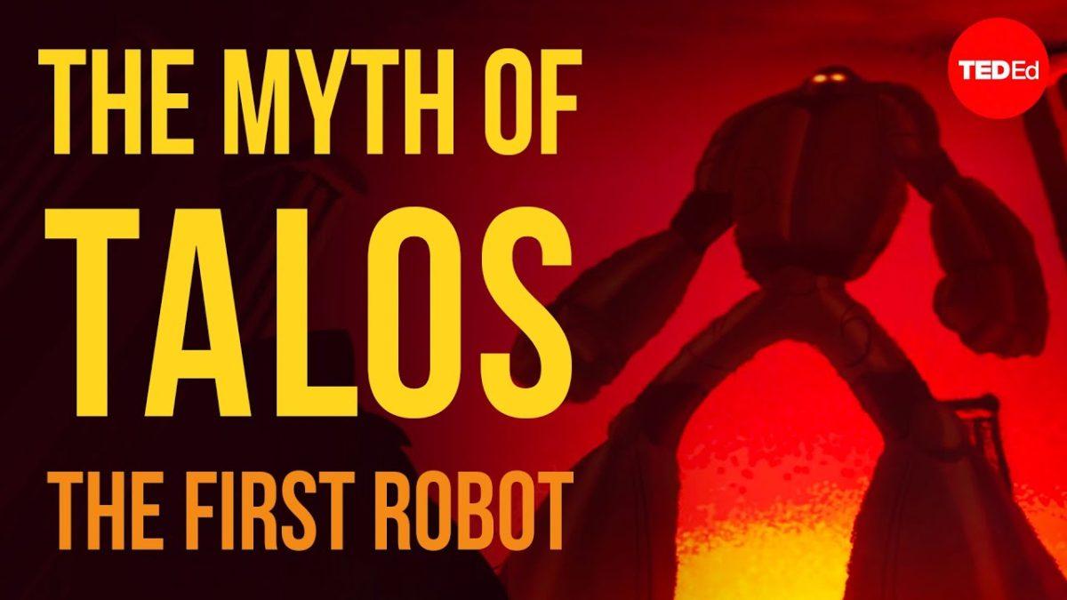 Die Geschichte von Talos, dem ersten Roboter, als hübsche Animation