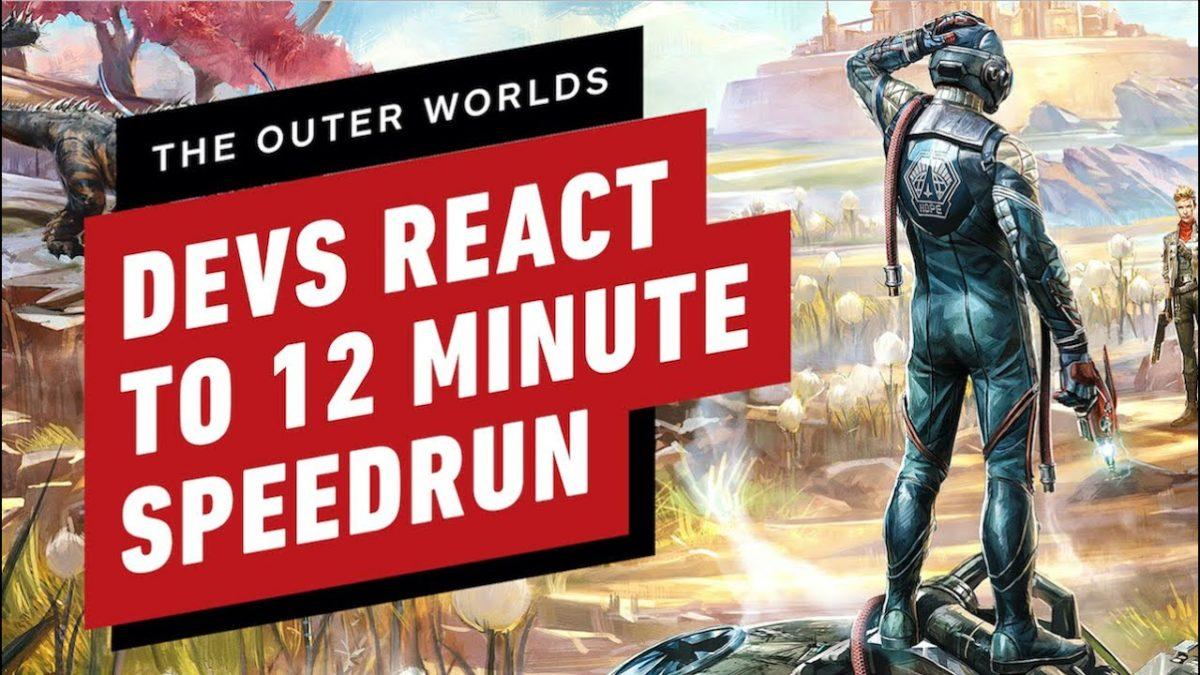 """""""The Outer Worlds"""": Entwickler des Spiels schauen sich einen Speedrun an"""