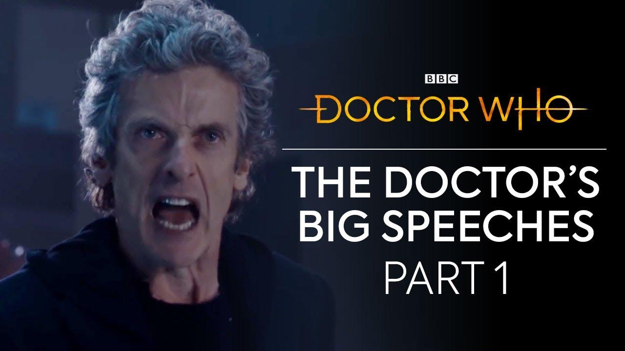 Die großen Reden des Doctor Who