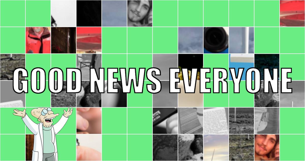 Good News Everyone LXI – feat. John Krasinski