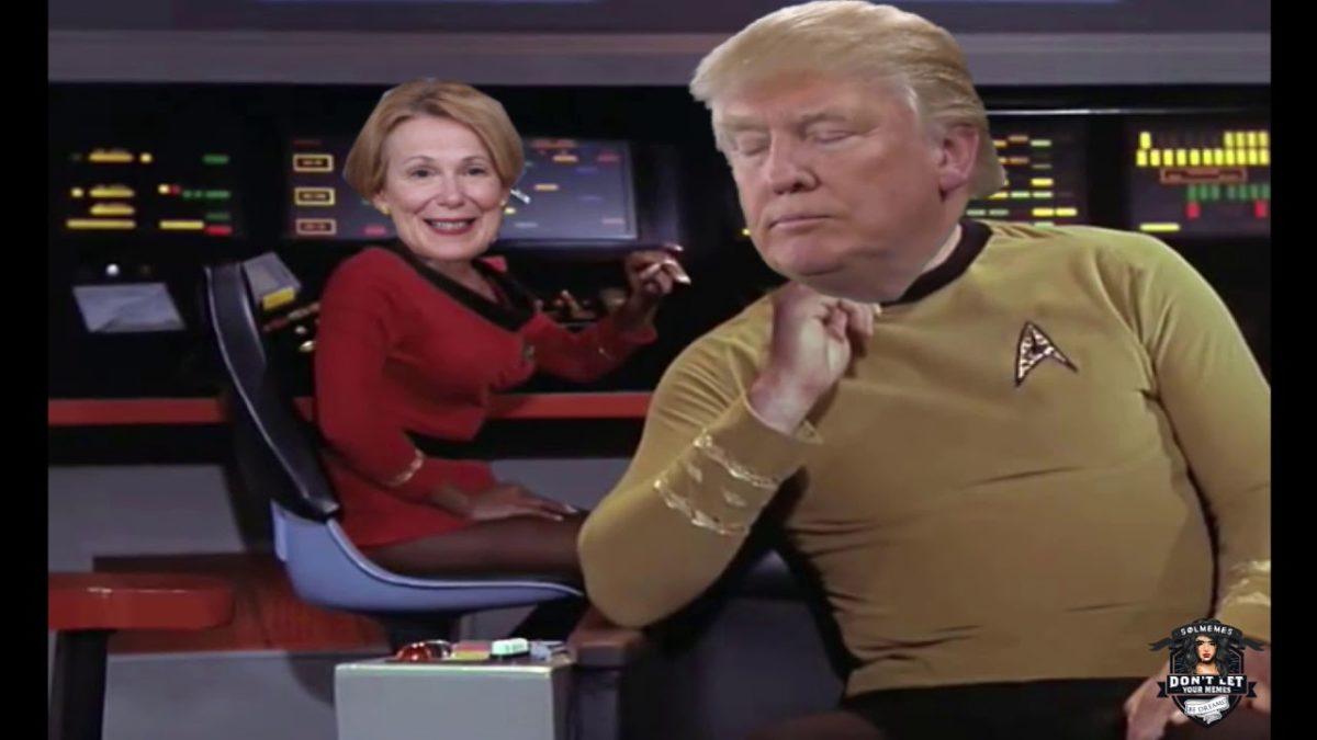 Captain Kirk hat eine Pandemie bereits lange vor Trump mit UV-Strahlen besiegt