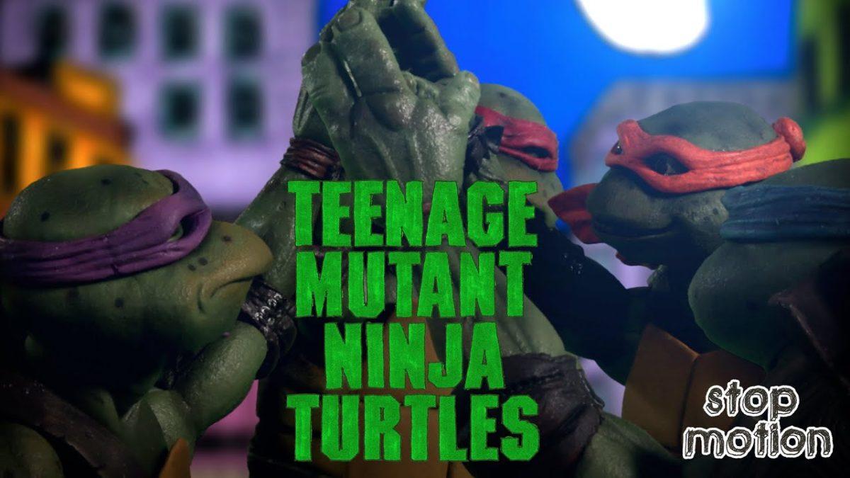 """Der Trailer zu """"Teenage Mutant Ninja Turtles"""" von 1990 in Stop Motion"""