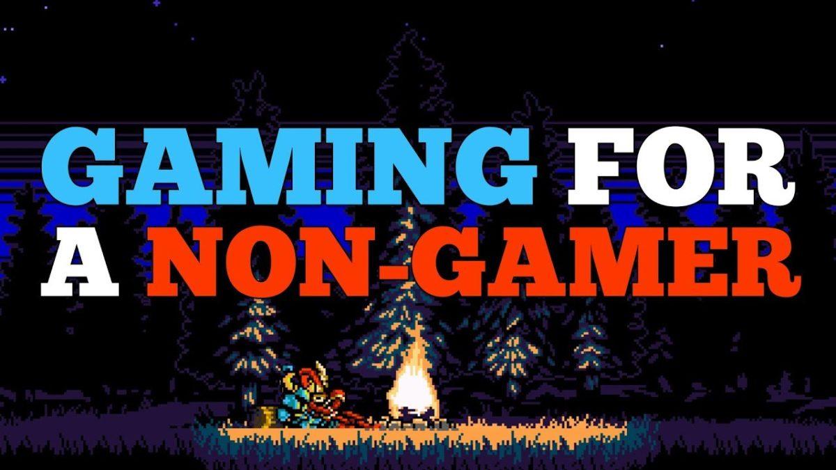"""""""Gaming for a Non-Gamer"""" – Wie Videospiele für jemanden sind, der noch nie spielte, und auf welchen Problemen man da eigentlich so begegnen kann"""