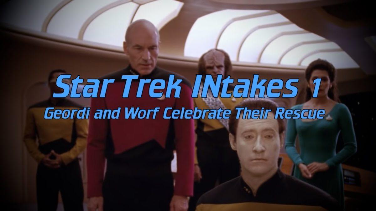 """""""Star Trek INtakes"""": Szenen aus TNG, aber mit den Bloopern als müsste das so sein"""