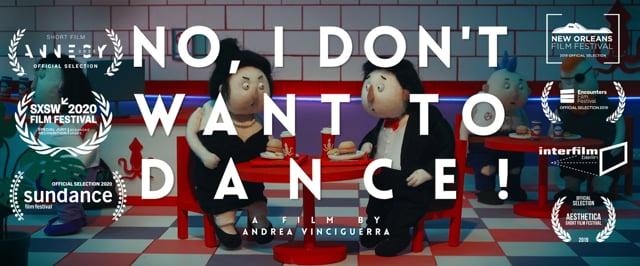"Im Kurzfilm ""No, I Don't Want to Dance!"" folgen Leute blind der Choreo"