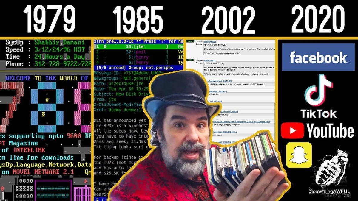 Eine Doku über das Bulletin Board System (BBS), die ersten Communities im Internet