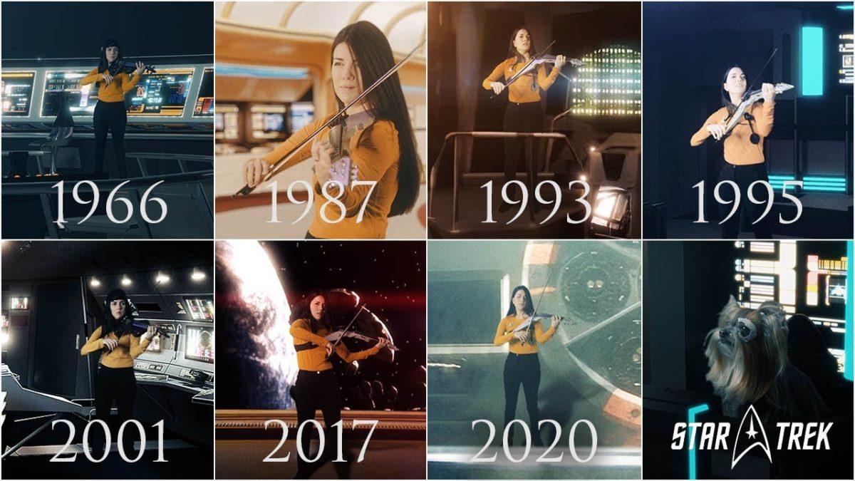 """Ein Medley der """"Star Trek""""-Themes auf der Geige in superschön!"""