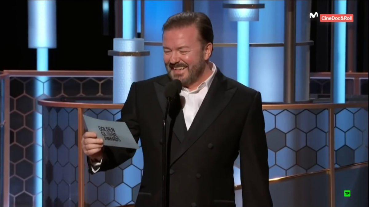 Ricky Gervais moderiert die Golden Globes 2020 und zerlegt Hollywood (inlusive Epstein-Jokes)