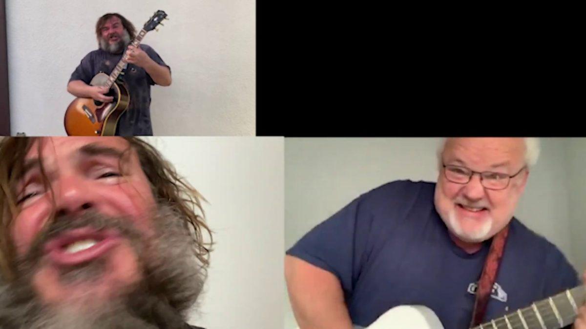 """Tenacious D spielen ihren neuen Song """"Don't Blow It, Kage"""" von zuhause aus"""