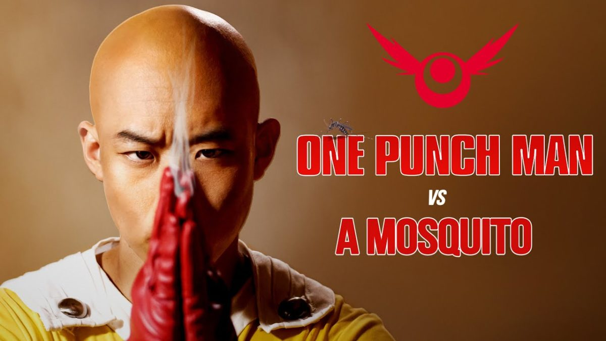 """One Punch Man vs. a Mosquito"" – aber als Live Action!"
