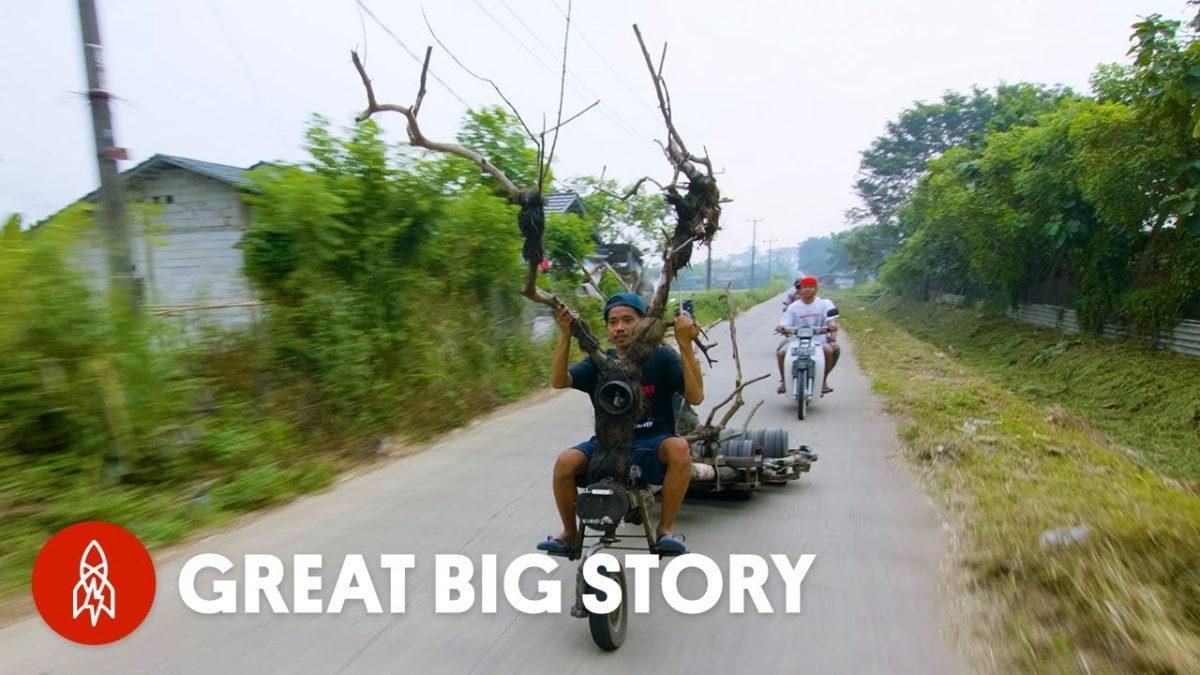 Eine kurze Doku über die irren Custom-Vespas in Indonesien