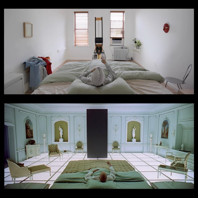 """Die Schlussszene aus """"2001: A Space Odyssey"""" wird zu """"2020: An Isolation Odyssey"""""""