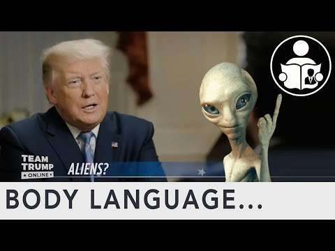 Expertin analysiert die Körpersprache von Donald Trump nach der Frage zu Außerirdischen