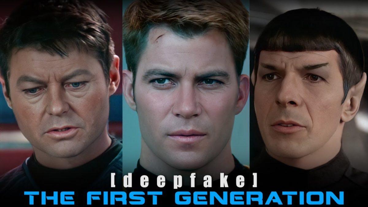 """""""Star Trek: The First Generation"""" – die Gesichter der alten Crew auf den Körpern der neuen"""