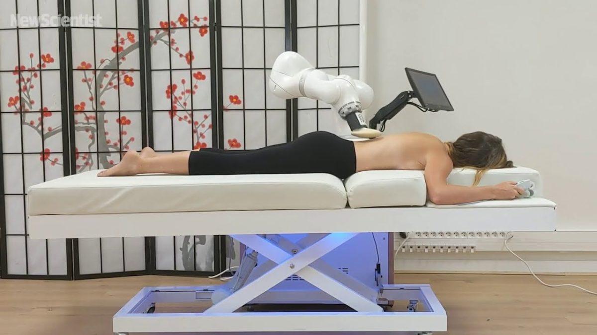 Würdest du dich von einem Roboter massieren lassen? (ich schon)