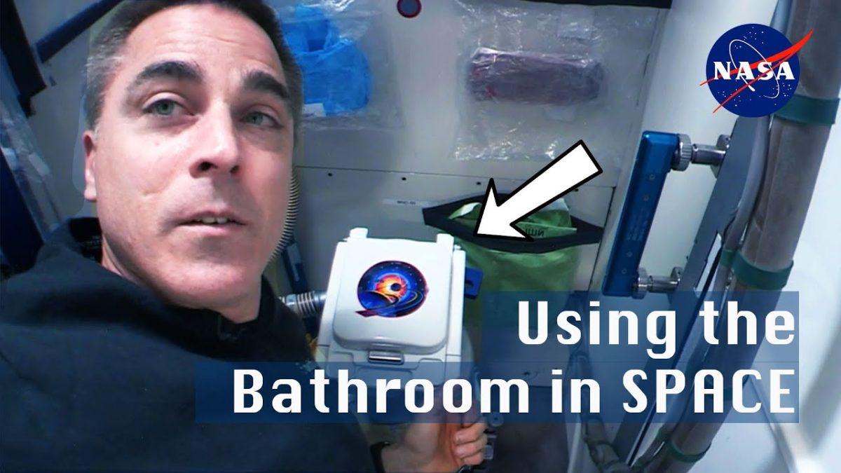 Aber wie funktioniert denn nun das Badezimmer auf der ISS?