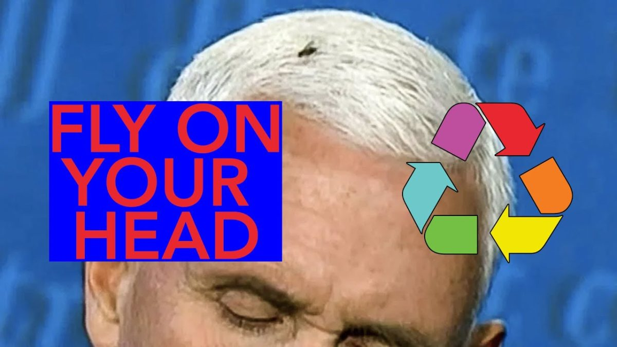 Mike Pence has a fly on his head (Eclectic Method Remix)