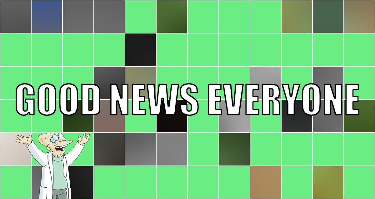 Eure guten Nachrichten zum Wochenstart: Good News Everyone XCIV