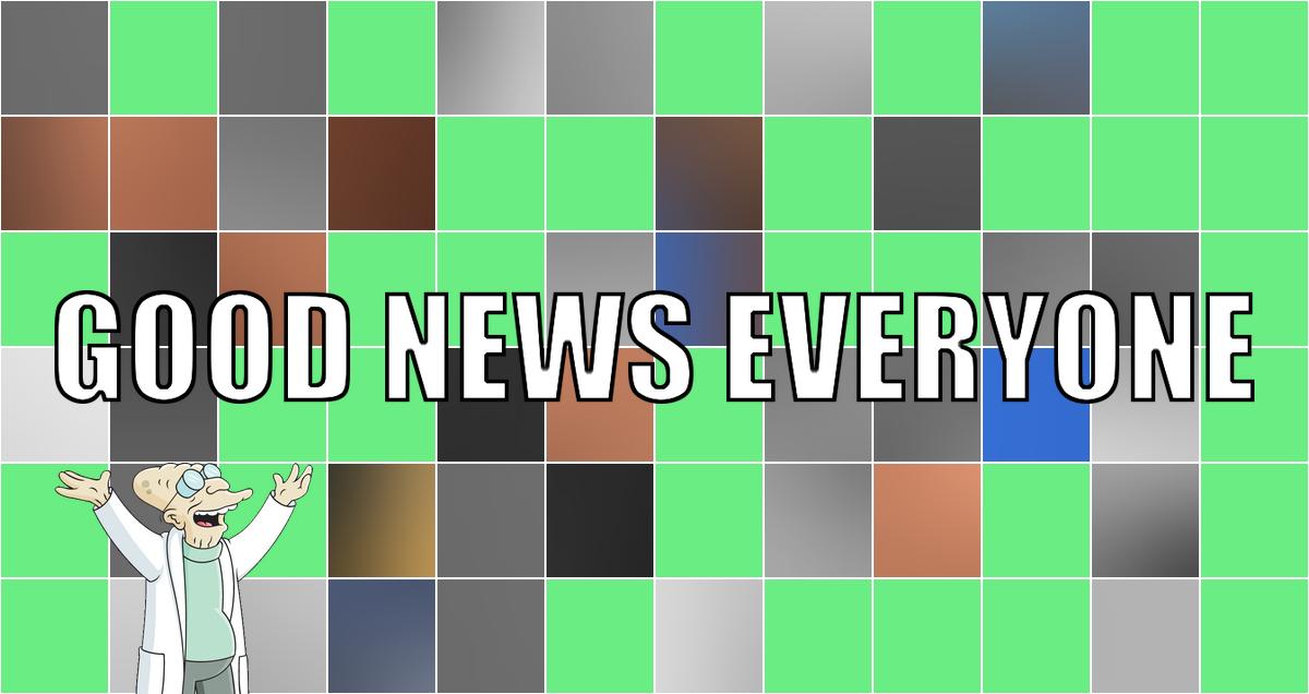 Good News Everyone XCV