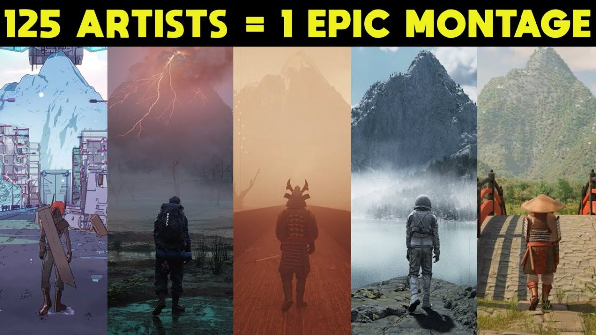 125 Artists, 1 Epic Montage