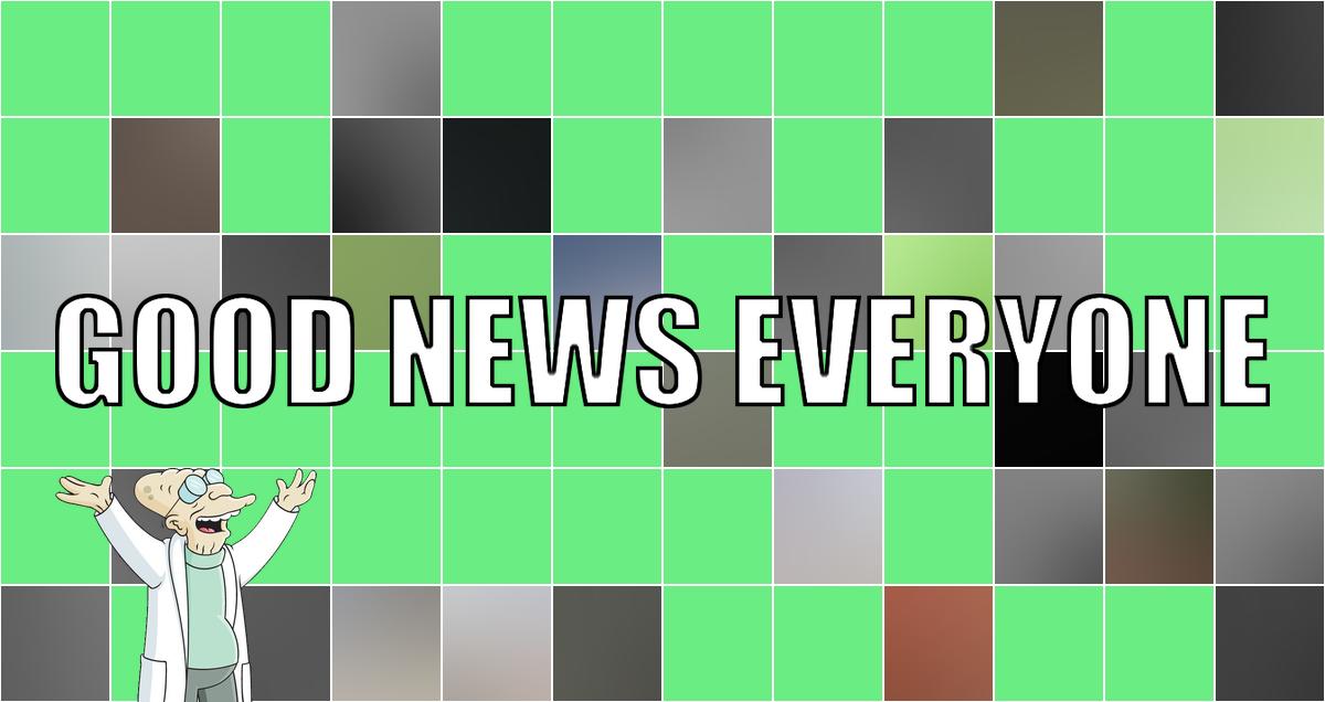 Eure Portion guter Nachrichten zum Wochenstart: Good News Everyone XCVI