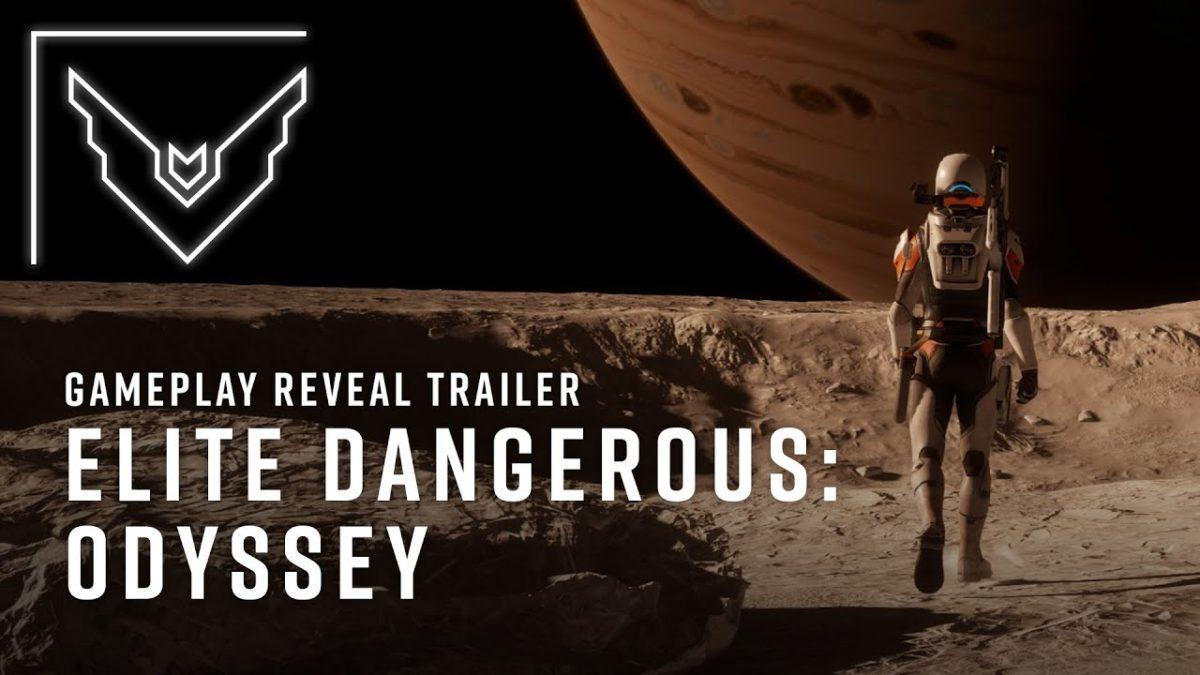 """Elite Dangerous: Das neue Addon """"Odyssey"""" hat einen ganz zauberhaften Trailer (und Major Tom)"""