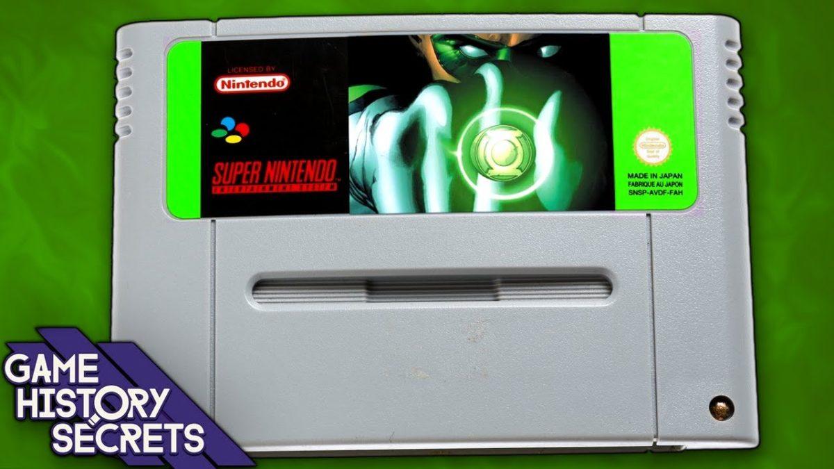 """Das """"Green Lantern""""-Game für das SNES, das leider niemals war"""