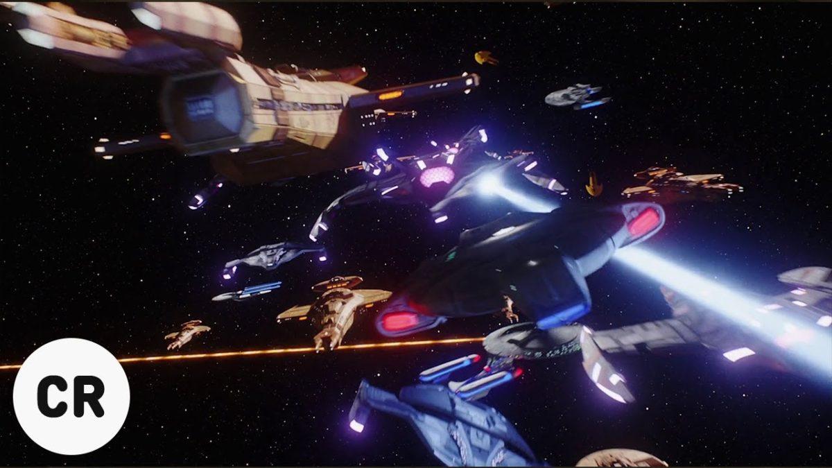 """Die Schlacht aus der """"Star Trek: Deep Space Nine""""-Folge """"Sacrifice of Angels"""" Dank AI in 4K"""