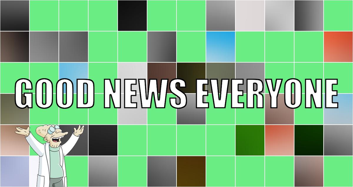 So viele gute Nachrichten und so wenig Zeit: Good News Everyone CI