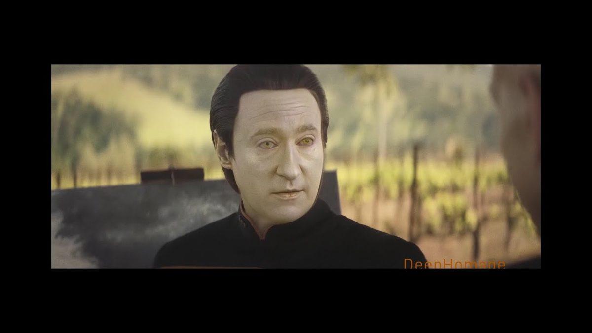"""Star Trek Picard"": Fixing Data's Face with Deepfake"