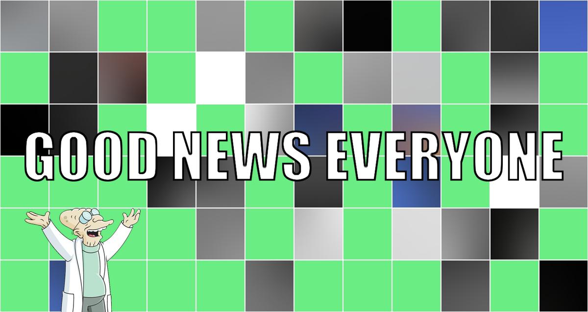 """In diesem """"Good News Everyone CV"""" sind eine Handvoll guter Nachrichten und mein erstes WordPress-Plugin versteckt!  #wegmit219"""