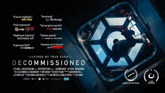"""Im Kurzfilm """"Decommissioned"""" kehrt ein alter Raumanzug zur ISS zurück"""