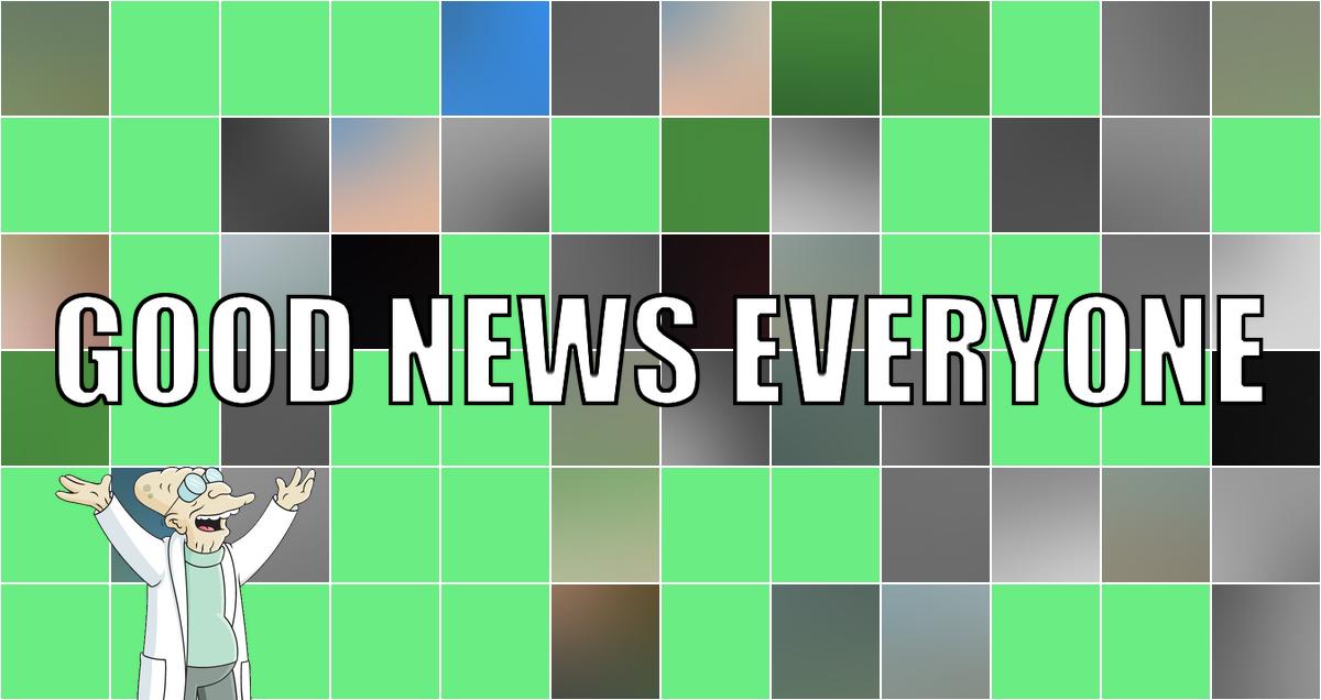 Eine Portion guter Nachrichten in meiner Geburtstagswoche: Good News Everyone CX