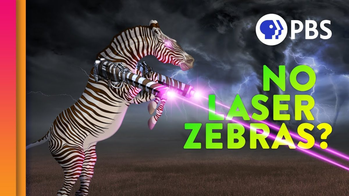 Was ist eigentlich unmögliche Evolution und warum haben Zebras keine Laser?