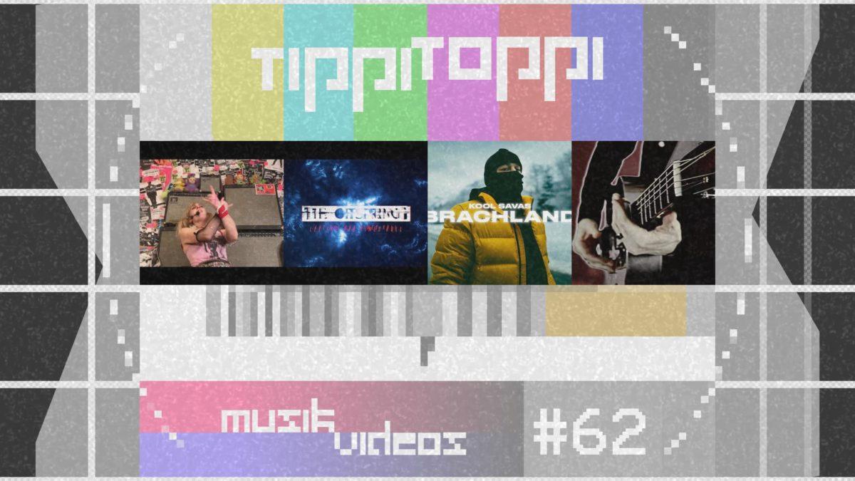 Tippi Toppi Musikvideos Vol. 62 mit Green Day, The Offspring, Kool Savas und Myles Kennedy