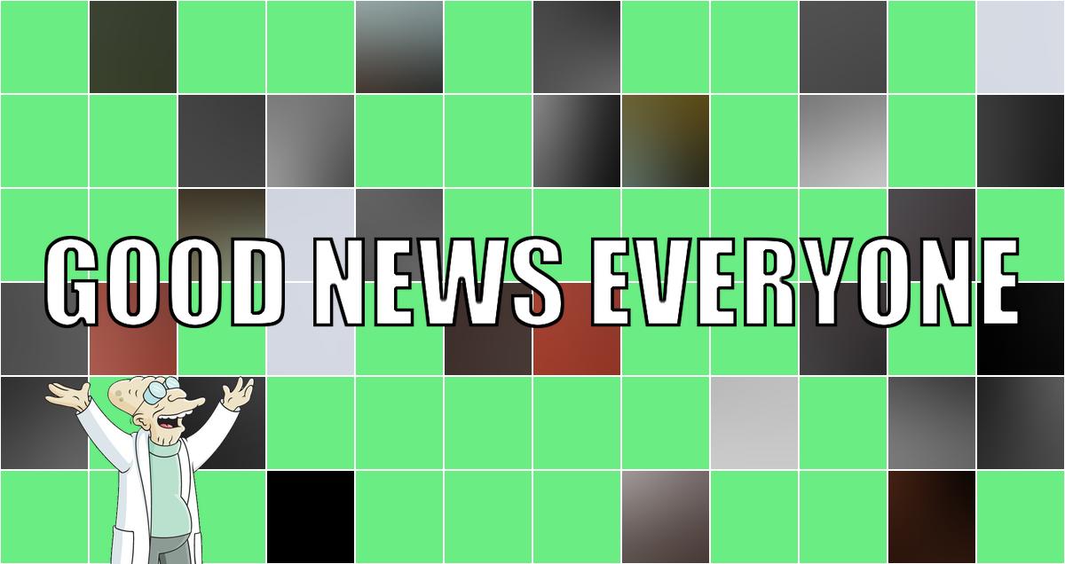 Eure guten Nachrichten direkt aus dem Osternest: Good News Everyone CXIII