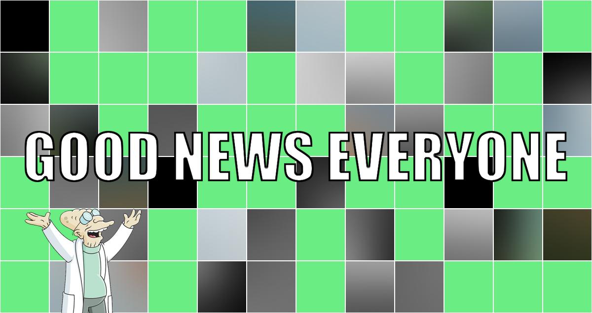 Von Duschschläuchen und guten Nachrichten: Good News Everyone CXIV