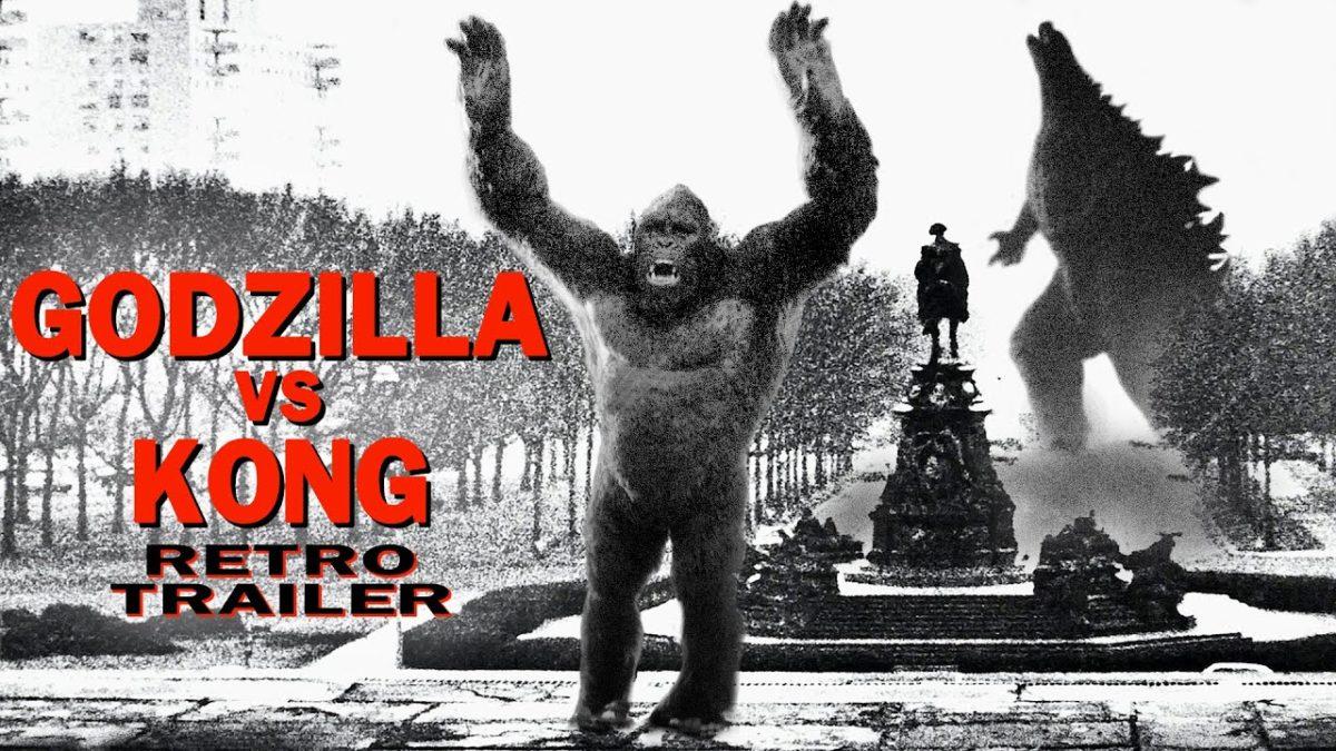 """""""Godzilla vs. Kong"""" – aber mit einem schnieken Retro-Trailer"""