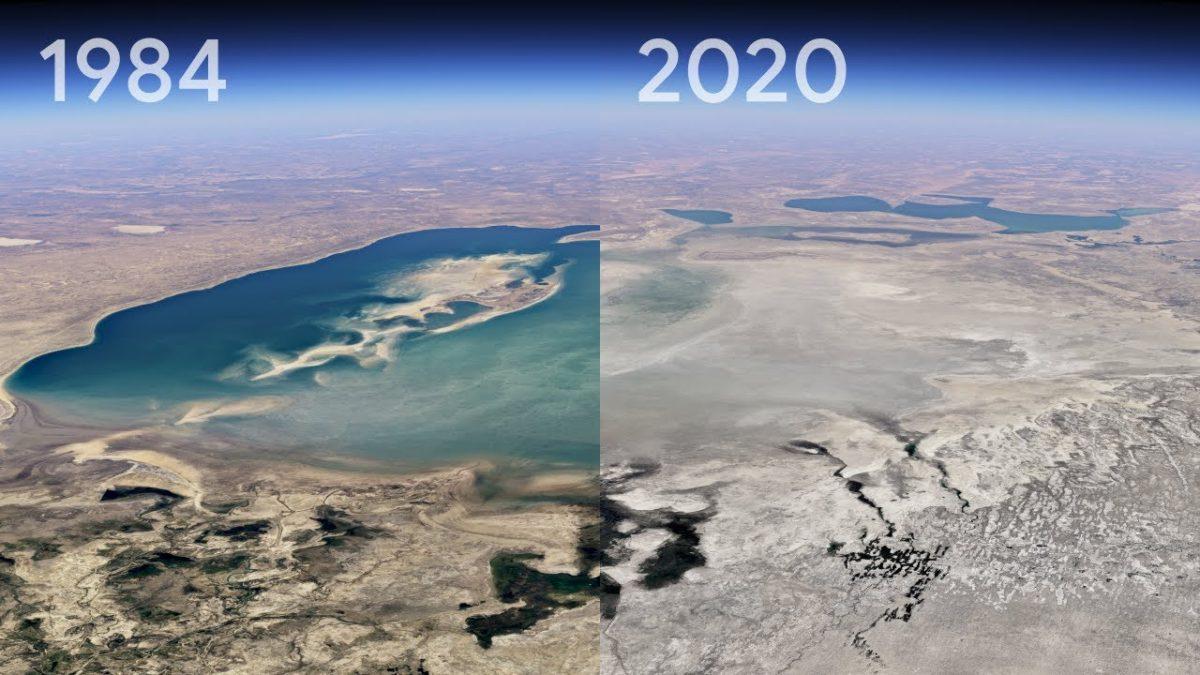 Google Earth hat nun eine Zeitraffer-Funktion