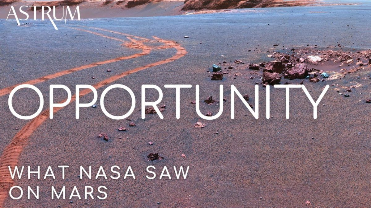 """My battery is low and it's getting dark"" – Die Geschichte des Mars Rovers Opportunity"