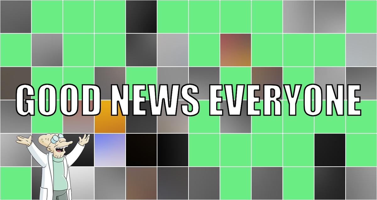 """Es ist Montag, also heißt es wieder """"Good News Everyone"""" mit Ausgabe Nummer CXXI"""