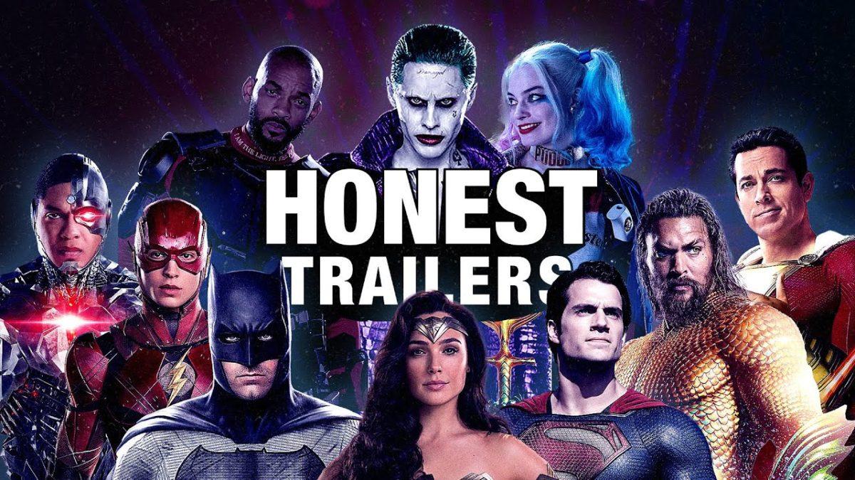 """Zum Jubiläum der 400. Ausgabe zerlegen die """"Honest Trailers"""" das DC-Filmuniversum"""
