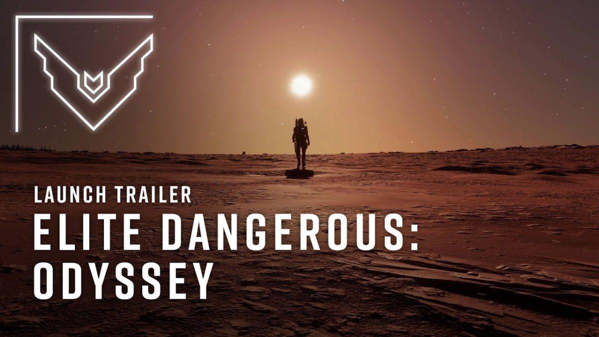 """""""Elite Dangerous: Oddyssey"""" hat einen tollen Launch Trailer und ich sag mal Tschüss"""