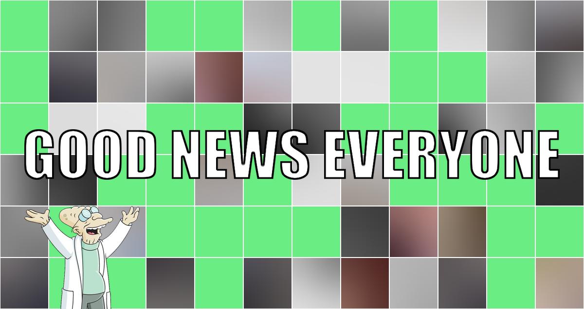 Garantiert Covid-freie gute Nachrichten mit aktuellem Test: Good News Everyone CXXIII