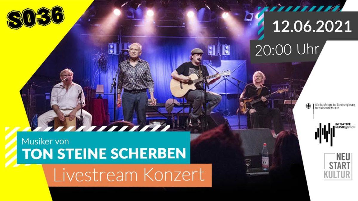 50 Jahre TON STEINE SCHERBEN – das Jubiläumskonzert im SO36, aber als Stream