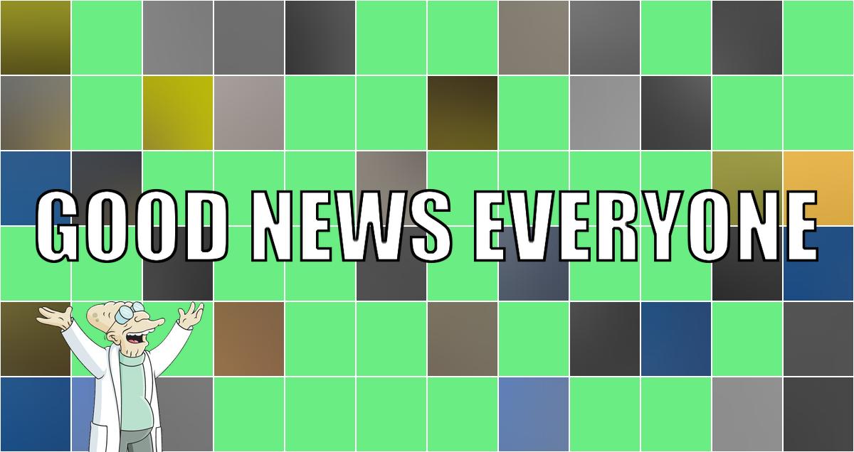 Hier sind eure frisch erholten guten Nachrichten der Woche: Good News Everyone CXXVIII