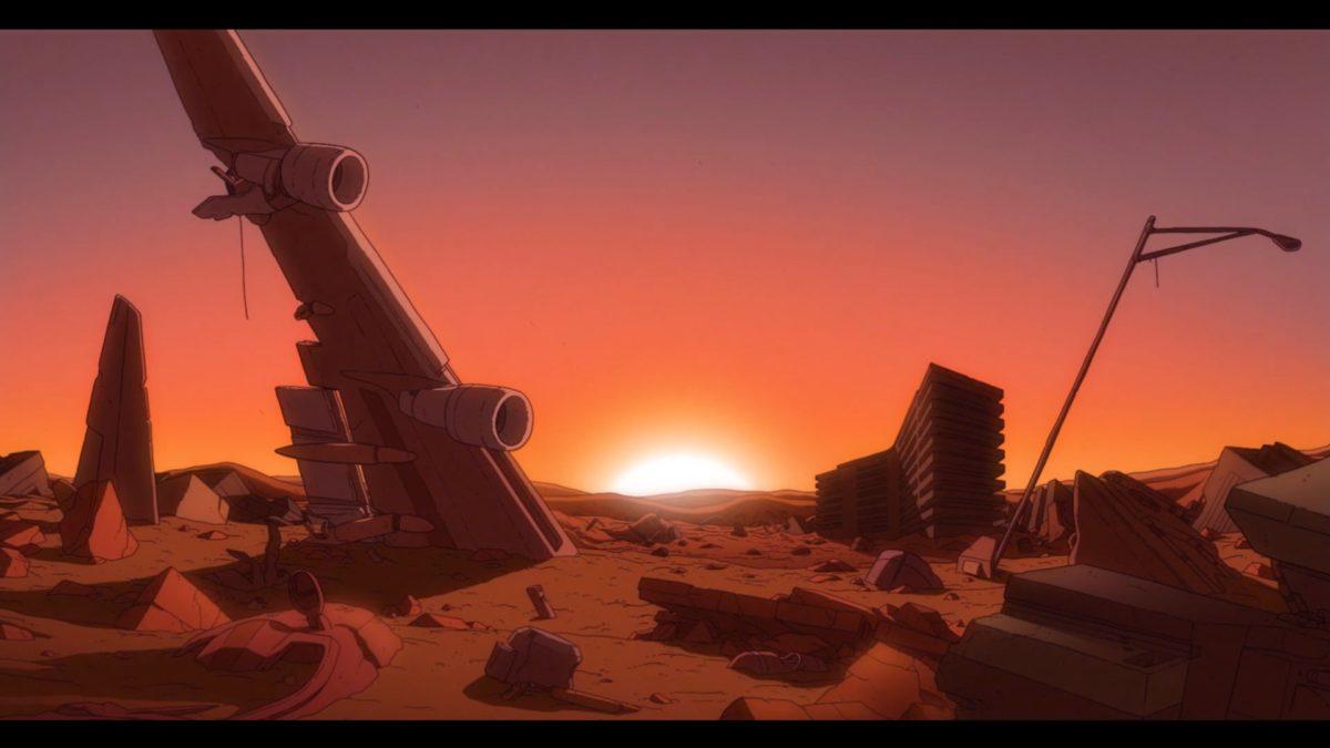 """Im Kurzfilm """"The Desert"""" wandern Roboter ziellos in einer menschenleeren Welt umher"""